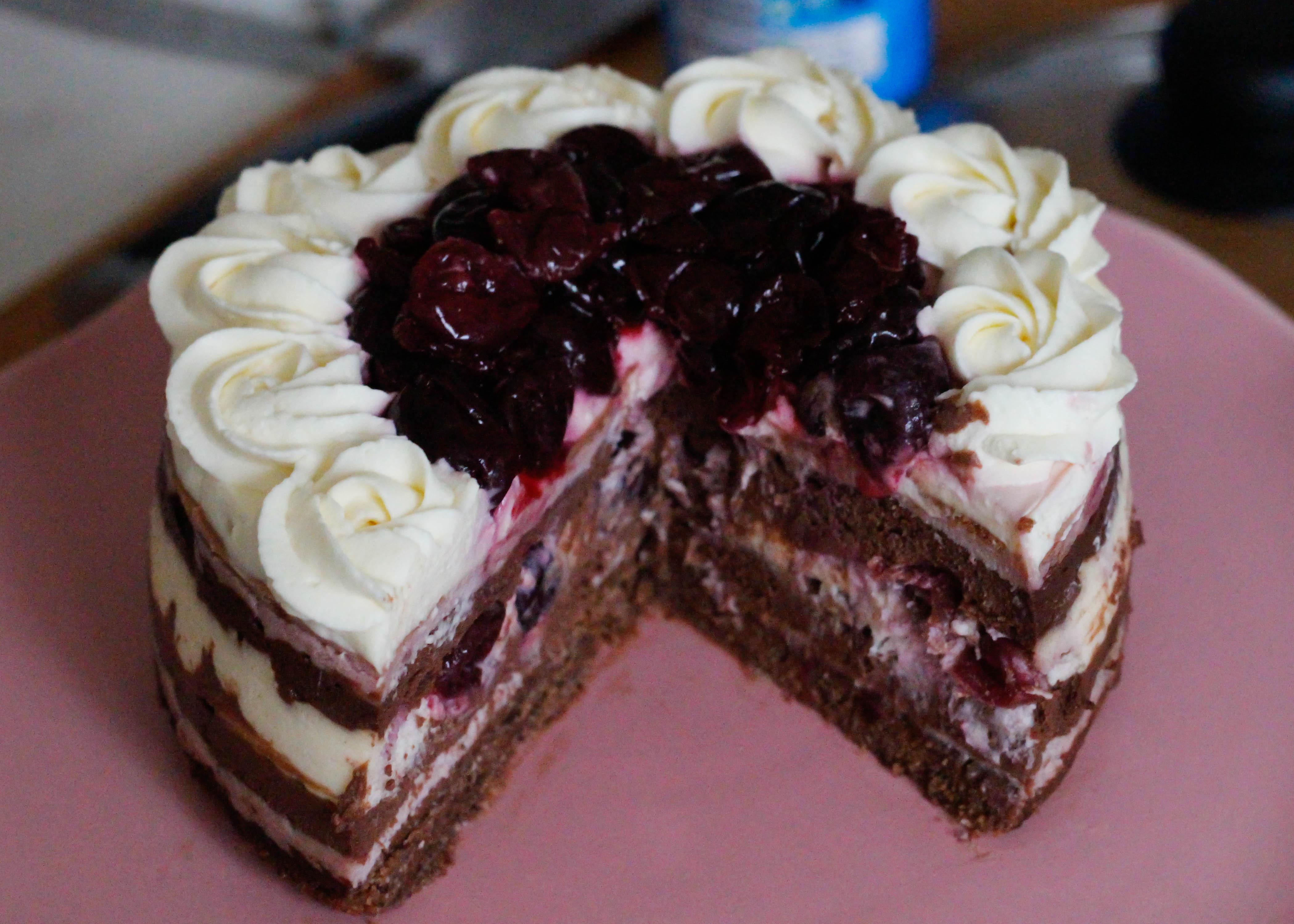 Kraft Black Forest Cake